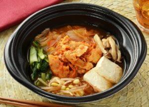 豚肉のキムチ鍋 (430円 税込) 糖質:9.2g